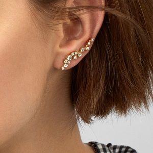 "NEW BaubleBar Earrings / ""Ear Crawlers"""